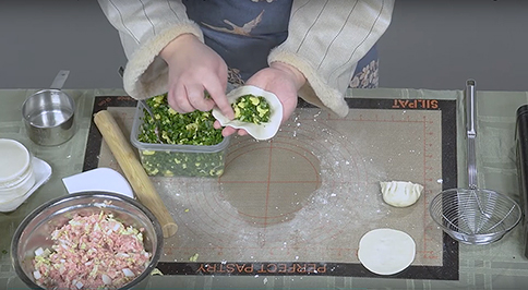 Boston Chinatown Neighborhood Center - cooking video close-up
