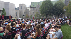 Boston College Mass of the Holy Spirit - O'Neill Plaza