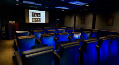 NE Institute of Art screening room