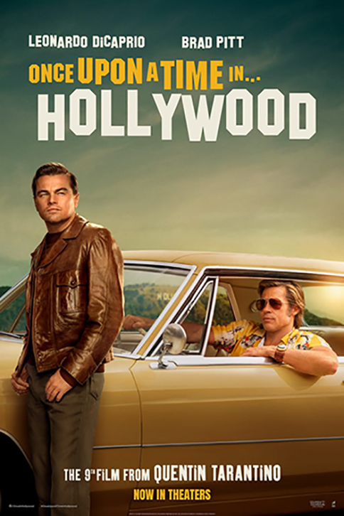 Once Upon a Time in Hollywood Los Angeles premiere - poster