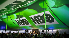 PIFF 20th celebration video screen blending - HBO logo
