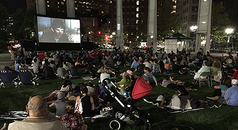 The Coolidge at the Greenway outdoor film series