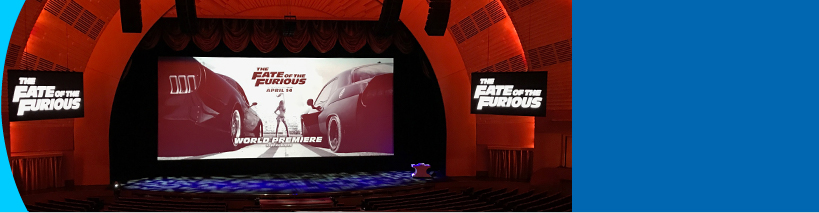 The Fate of the Furious world premiere :: Radio City Music Hall, New York City, NY