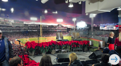 Special Events - Christmas at Fenway stage